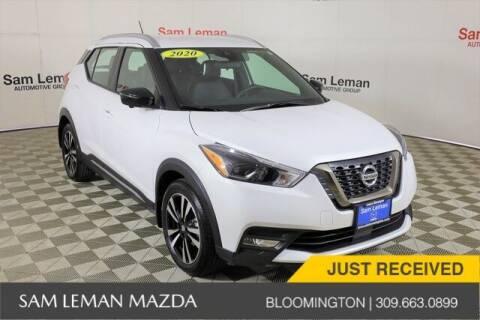 2020 Nissan Kicks for sale at Sam Leman Mazda in Bloomington IL