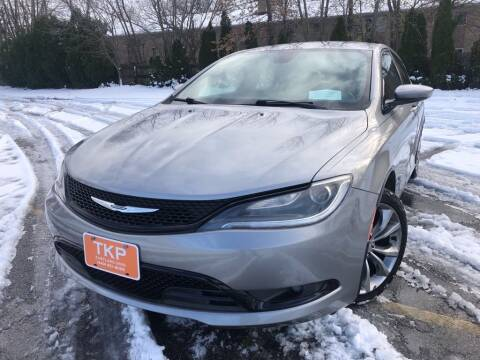2015 Chrysler 200 for sale at TKP Auto Sales in Eastlake OH