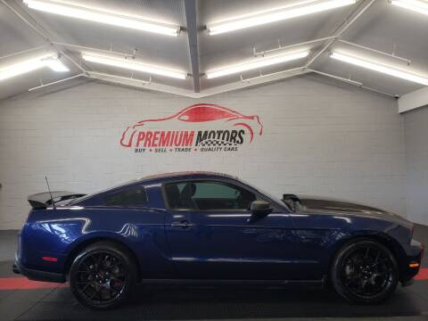 2012 Ford Mustang for sale at Premium Motors in Villa Park IL
