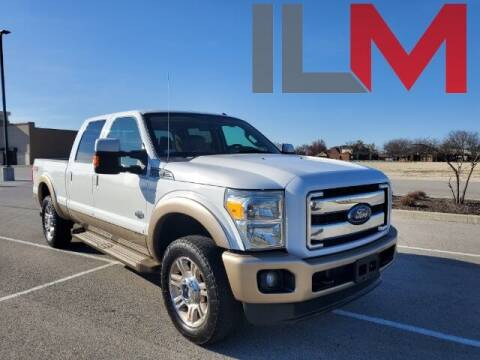 2012 Ford F-250 Super Duty for sale at INDY LUXURY MOTORSPORTS in Fishers IN
