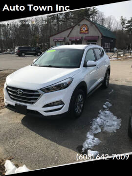 2017 Hyundai Tucson for sale at Auto Town Inc in Brentwood NH