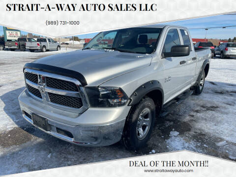 2013 RAM Ram Pickup 1500 for sale at Strait-A-Way Auto Sales LLC in Gaylord MI