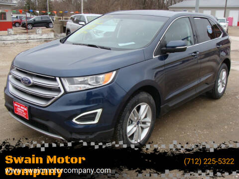 2017 Ford Edge for sale at Swain Motor Company in Cherokee IA