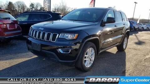 2017 Jeep Grand Cherokee for sale at Baron Super Center in Patchogue NY