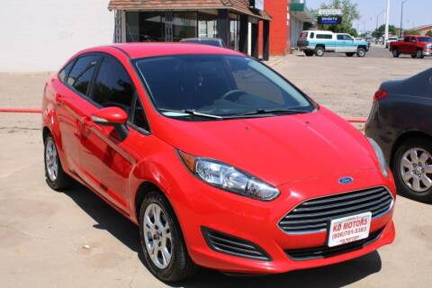 2014 Ford Fiesta for sale at KD Motors in Lubbock TX