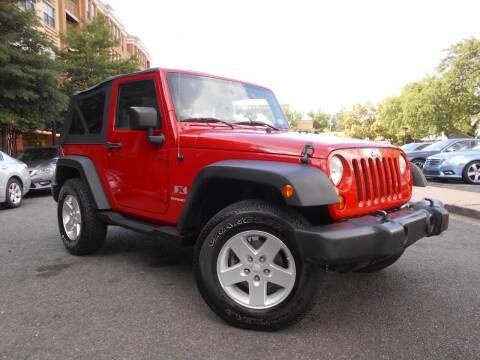 2008 Jeep Wrangler for sale at H & R Auto in Arlington VA