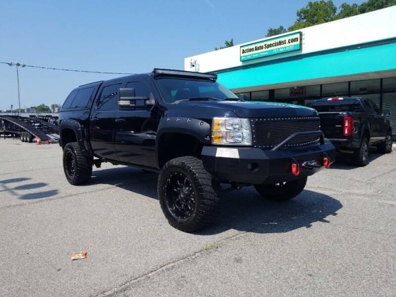 2012 Chevrolet Silverado 1500 for sale at Action Auto Specialist in Norfolk VA