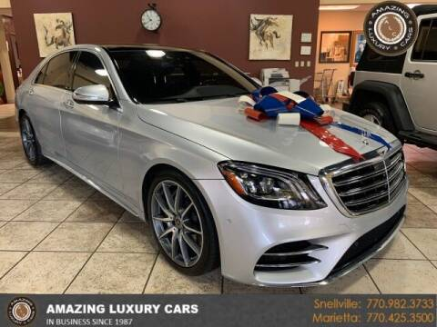 2018 Mercedes-Benz S-Class for sale at Amazing Luxury Cars in Snellville GA