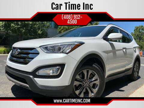 2014 Hyundai Santa Fe Sport for sale at Car Time Inc in San Jose CA