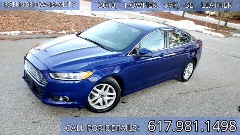 2013 Ford Fusion for sale at Wheeler Dealer Inc. in Acton MA