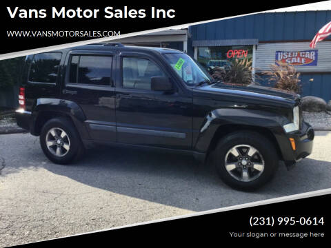 2008 Jeep Liberty for sale at Vans Motor Sales Inc in Traverse City MI