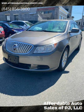 2012 Buick LaCrosse for sale at Affordable Auto Sales of PJ, LLC in Port Jervis NY