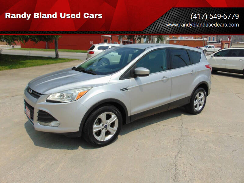 2014 Ford Escape for sale at Randy Bland Used Cars in Nevada MO