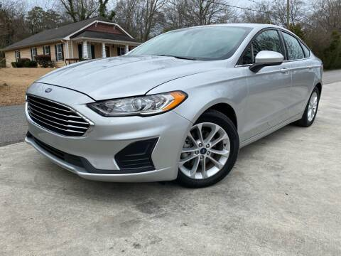 2019 Ford Fusion for sale at Cobb Luxury Cars in Marietta GA