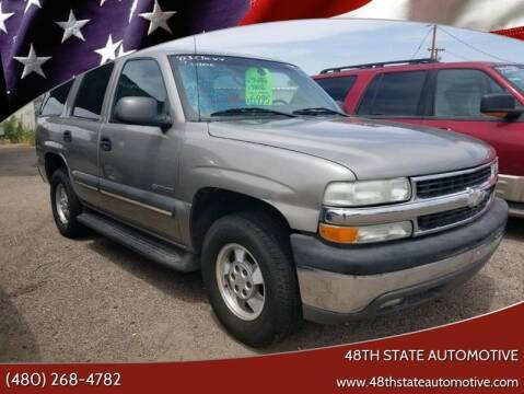 2003 Chevrolet Tahoe for sale at 48TH STATE AUTOMOTIVE in Mesa AZ