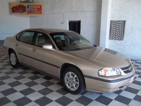 2000 Chevrolet Impala for sale at Schalk Auto Inc in Albion NE
