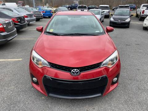 2015 Toyota Corolla for sale at Fuentes Brothers Auto Sales in Jessup MD