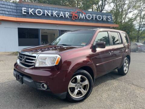 2012 Honda Pilot for sale at Ekonkar Motors in Scotch Plains NJ