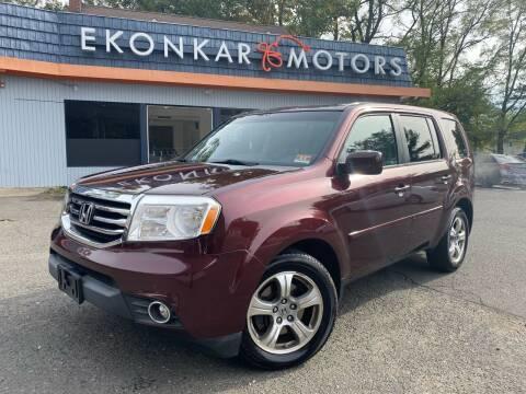 2012 Honda Pilot for sale at Ekonkar Motors in Scotch Plains NJ