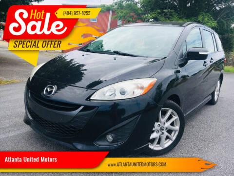 2014 Mazda MAZDA5 for sale at Atlanta United Motors in Buford GA