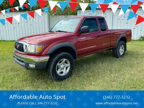 2004 Toyota Tacoma for sale at Affordable Auto Spot in Houston TX