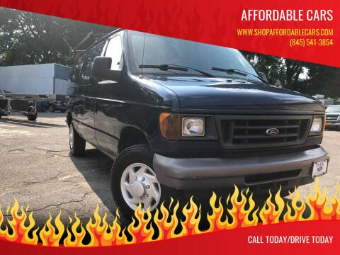 2007 Ford E-Series Cargo for sale at Affordable Cars in Kingston NY