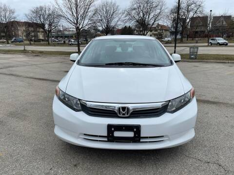 2012 Honda Civic for sale at Sphinx Auto Sales LLC in Milwaukee WI