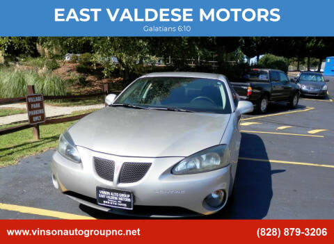 2007 Pontiac Grand Prix for sale at EAST VALDESE MOTORS in Valdese NC