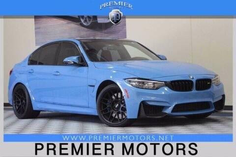 2018 BMW M3 for sale at Premier Motors in Hayward CA