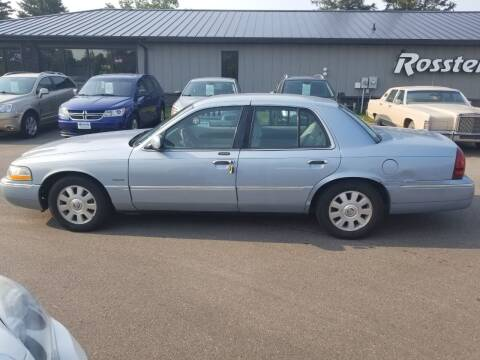 2003 Mercury Grand Marquis for sale at ROSSTEN AUTO SALES in Grand Forks ND