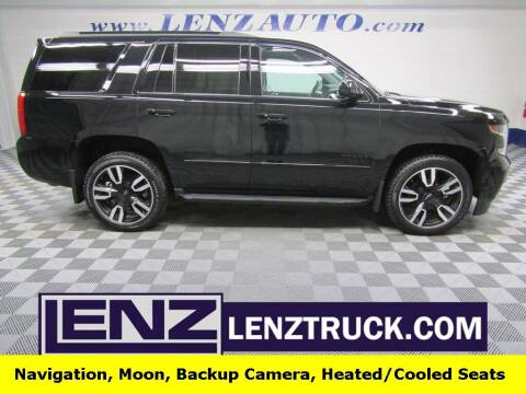 2020 Chevrolet Tahoe for sale at LENZ TRUCK CENTER in Fond Du Lac WI