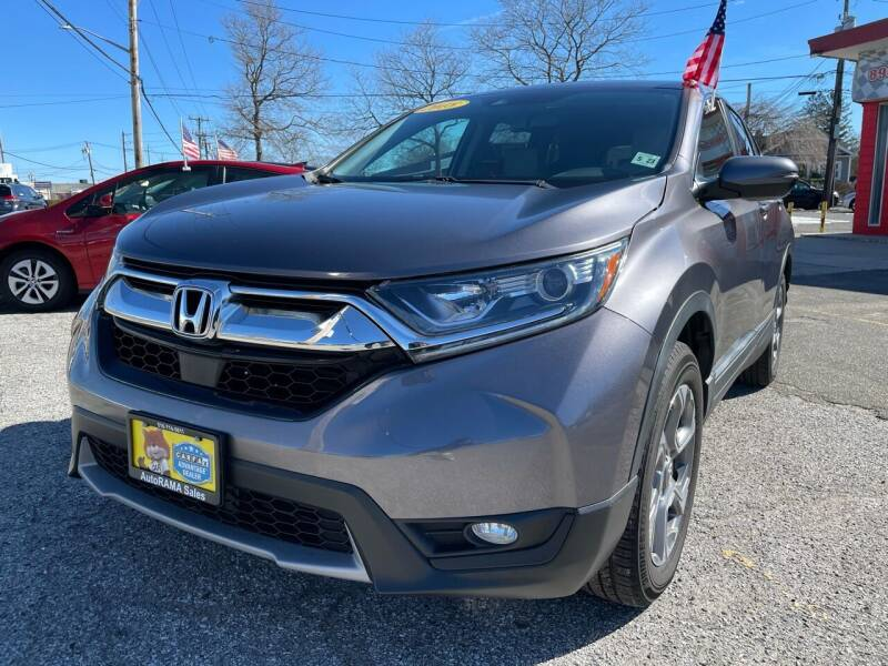 2018 Honda CR-V for sale at AUTORAMA SALES INC. - Farmingdale in Farmingdale NY