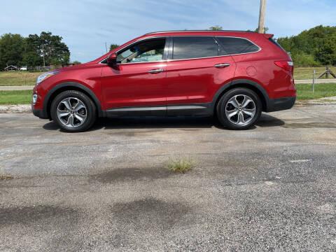 2016 Hyundai Santa Fe for sale at K & P Used Cars, Inc. in Philadelphia TN