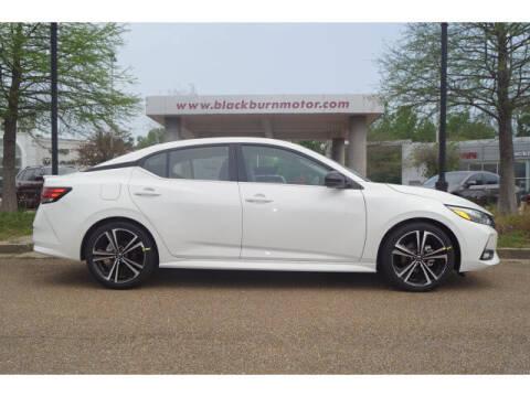 2021 Nissan Sentra for sale at BLACKBURN MOTOR CO in Vicksburg MS