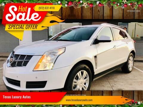 2012 Cadillac SRX for sale at Texas Luxury Auto in Cedar Hill TX