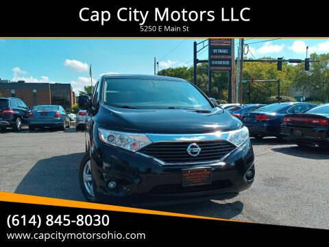 2015 Nissan Quest for sale at Cap City Motors LLC in Columbus OH