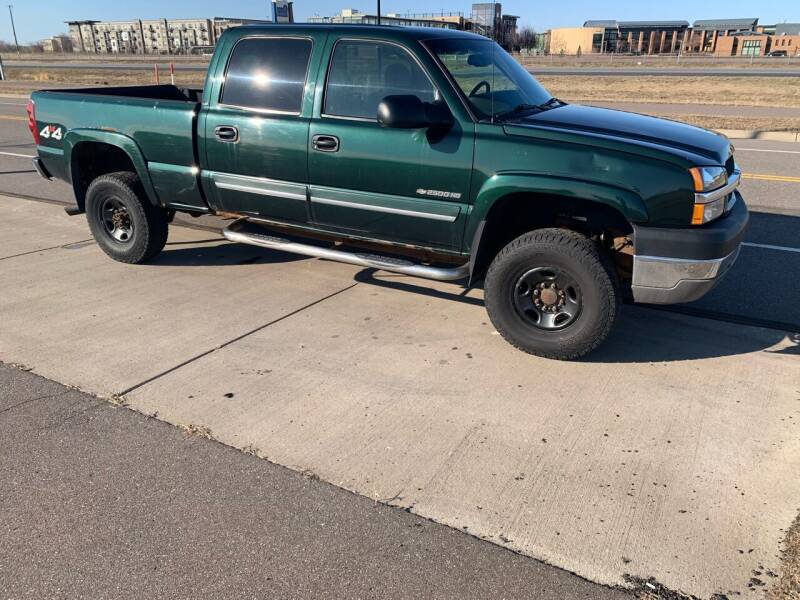2003 Chevrolet Silverado 2500HD for sale at Major Motors Automotive Group LLC in Ramsey MN