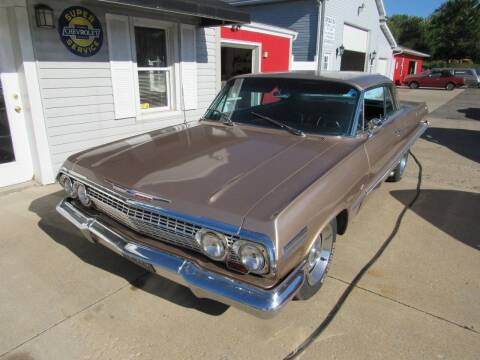 1963 Chevrolet Impala for sale at Whitmore Motors in Ashland OH