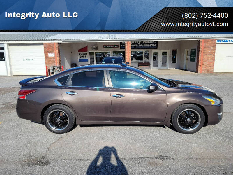 2014 Nissan Altima for sale at Integrity Auto 2.0 in Saint Albans VT