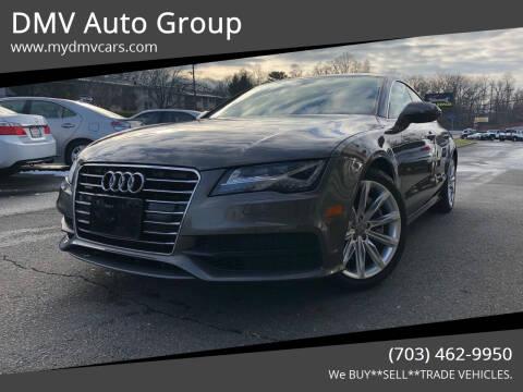 2012 Audi A7 for sale at DMV Auto Group in Falls Church VA
