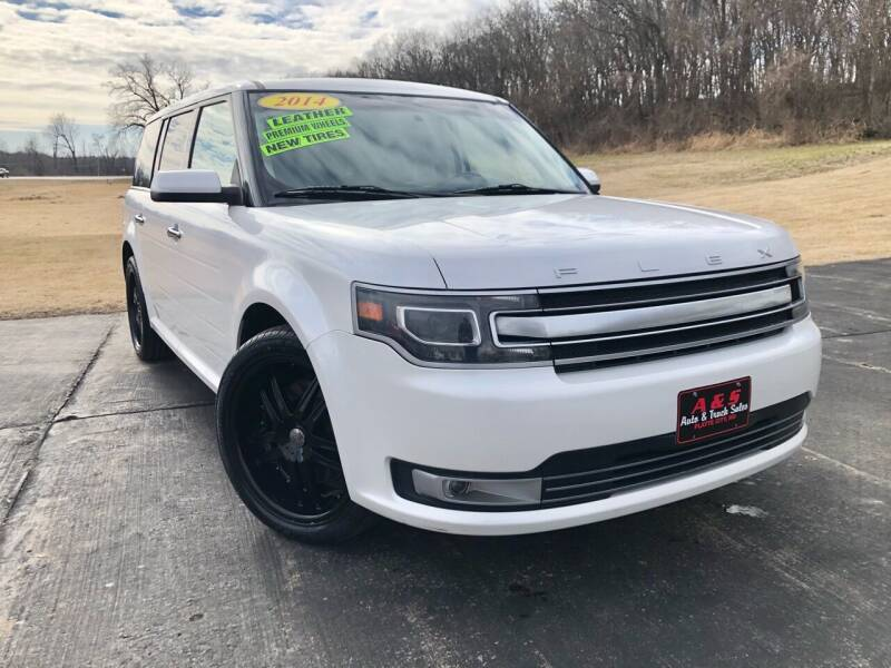 2014 Ford Flex for sale at A & S Auto and Truck Sales in Platte City MO