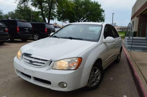 2005 Kia Spectra for sale at E-Auto Groups in Dallas TX