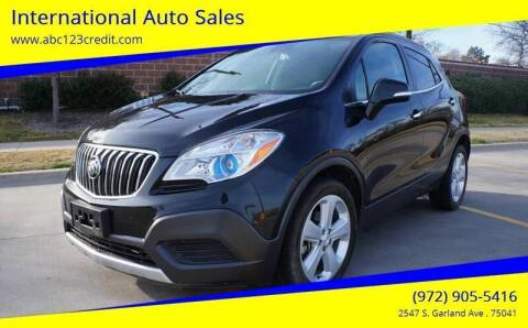 2016 Buick Encore for sale at International Auto Sales in Garland TX