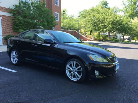 2006 Lexus IS 250 for sale at Car World Inc in Arlington VA