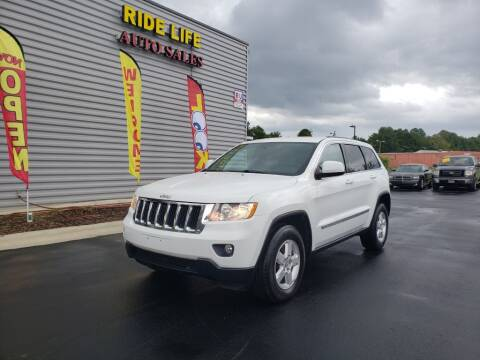 2013 Jeep Grand Cherokee for sale at Ride Life Auto Sales in Charlotte NC