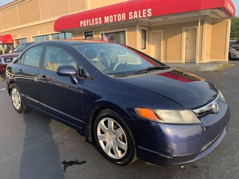 2007 Honda Civic for sale at Payless Motor Sales LLC in Burlington NC