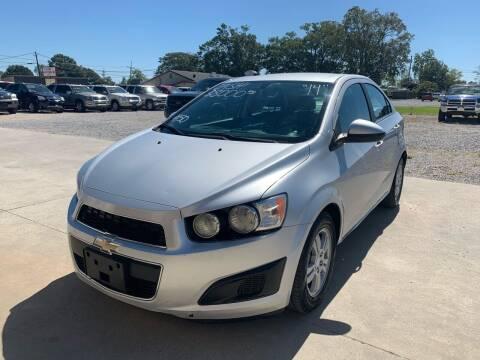 2014 Chevrolet Sonic for sale at Bayou Motors Inc in Houma LA
