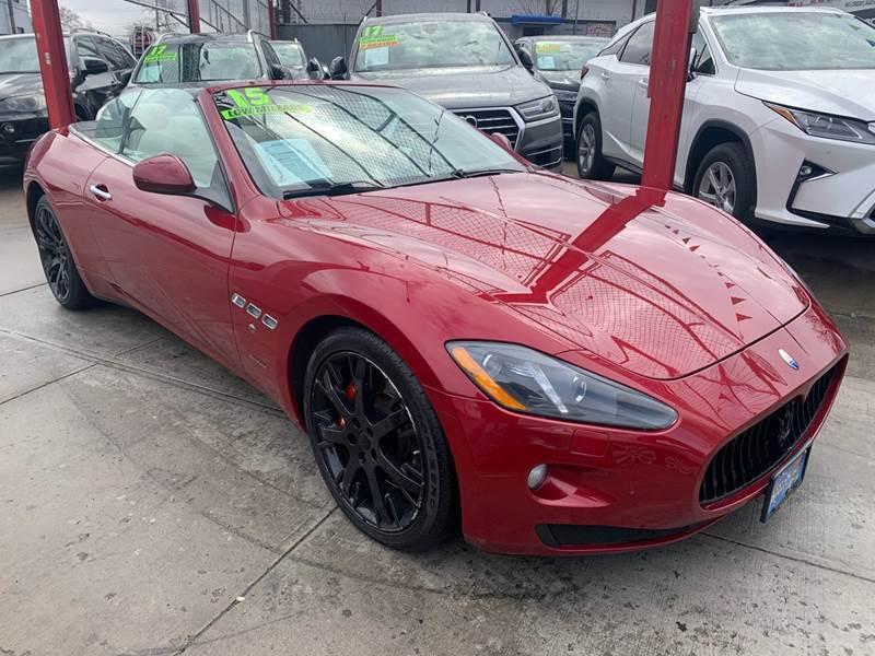 2015 Maserati GranTurismo for sale at LIBERTY AUTOLAND INC in Jamaica NY