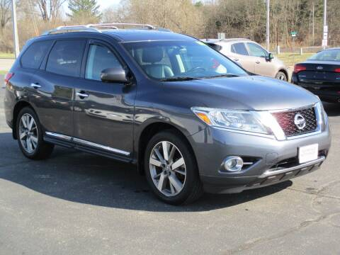 2014 Nissan Pathfinder for sale at Plainfield Auto Sales, LLC in Plainfield WI