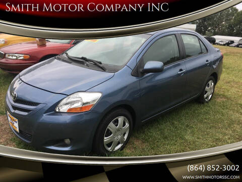 2007 Toyota Yaris for sale at Smith Motor Company INC in Mc Cormick SC